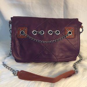 Handbags - Designer Fashion Plum Shoulder Bag